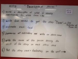 Instruktioner vid införande av berättelse (stories) som kravbeskrivning